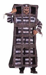 Бандиты и преступницы - Костюм заключённого в клетке