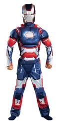 Железный человек - Костюм Железного патриота с мышцами