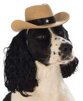 Парики и шляпы - Ковбойская шляпа для собаки