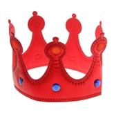 Женские костюмы - Красная корона со стразами