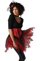 Подъюбники и юбки - Красно-черная юбка