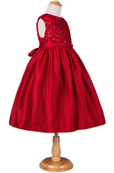 Платья для девочек - Красное платье для девочки