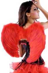 Крылья для костюма - Красные крылья ангела