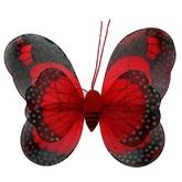 Пчелки и бабочки - Красные крылья бабочки