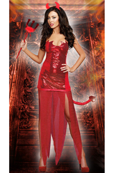 Дьяволы и дьяволицы - Костюм Красный дьявол