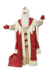 Красный костюм Деда Мороза