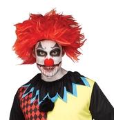 Клоуны - Красный парик клоуна