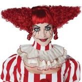 Клоунессы - Красный парик злого клоуна
