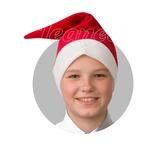Дед Мороз - Красный плюшевый колпак