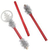 На Новый год - Красный посох с елочкой