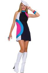 Ретро-костюмы 60-х годов - Костюм Красотка из шестидесятых