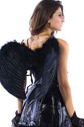 Женские костюмы - Крылья черного ангелочка
