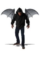 Демоны - Крылья демона черные