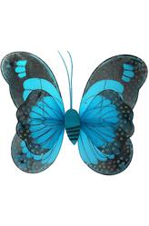 Крылья для костюма - Крылья голубой бабочки