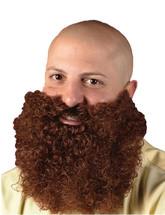 Борода и усы - Кудрявая рыжая