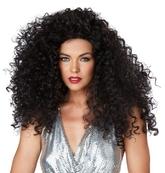 Ретро-костюмы 60-х годов - Кудрявый черный парик диско