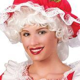 На Новый год - Кудрявый парик пепельной блондинки