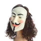 Знаменитости - Латексная маска Анонимуса