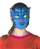 Герои фильмов - Латексная маска Аватар