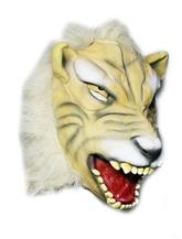 Леопарды и тигры - Латексная маска белого тигра