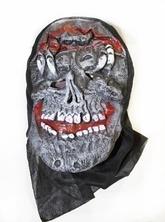 Карнавальные маски - Латексная маска черепа