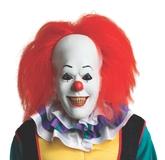 Клоуны - Латексная маска Пеннивайза с волосами