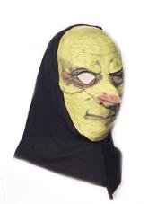 Карнавальные маски - Латексная маска с капюшоном
