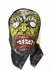 Карнавальные маски - Латексная маска с выпученными глазами