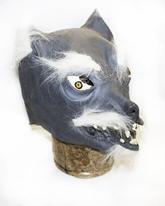 Карнавальные маски - Латексная маска волка