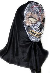 Скелеты и мертвецы - Латексная маска Жуткий череп