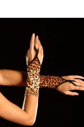 Леопардовые перчатки