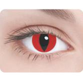 Женские костюмы - Линзы Кошачий глаз красные