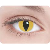 Женские костюмы - Линзы Кошачий глаз желтый