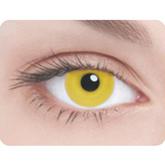 Ресницы и линзы - Линзы Желтый глаз