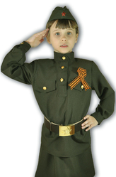 Военные - Костюм Маленькая фронтовичка