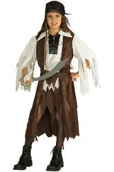 Пиратские костюмы - Костюм Маленькая пиратка-разбойница