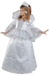 Снежная королева - Костюм Маленькая Снежная Королева