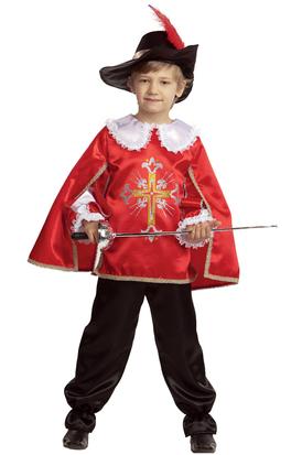 Отважный мушкетер в красном