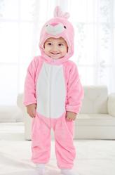 Маленький розовый кролик