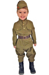 Военные и летчики - Костюм Маленький военнослужащий