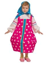 Русские народные - Малиновый костюм матрешки