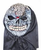 Карнавальные маски - Маска Череп с лягушкой на лбу