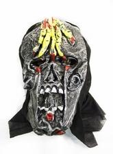 Карнавальные маски - Маска черепа с рукой