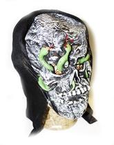 Карнавальные маски - Маска черепа со змеями