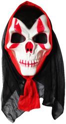 Скелеты и мертвецы - Маска черепа вампира в капюшоне