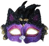 Кошки - Маска фиолетового Котика