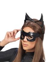 Карнавальные маски - Маска и ушки женщины-кошки