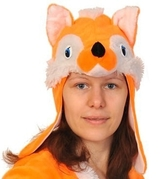 Карнавальные маски - Маска лисицы для взрослых