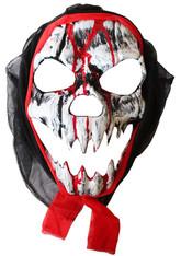 Скелеты и мертвецы - Маска Лицо с оскалом в капюшоне