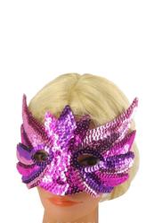 Карнавальные маски - Маска с блестками
